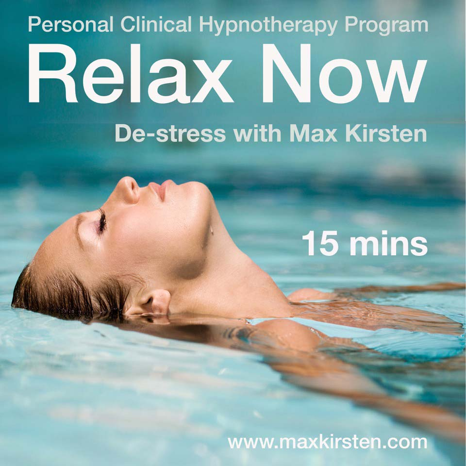 Relax Now Hypnotherapy MP3 Download By Max Kirsten