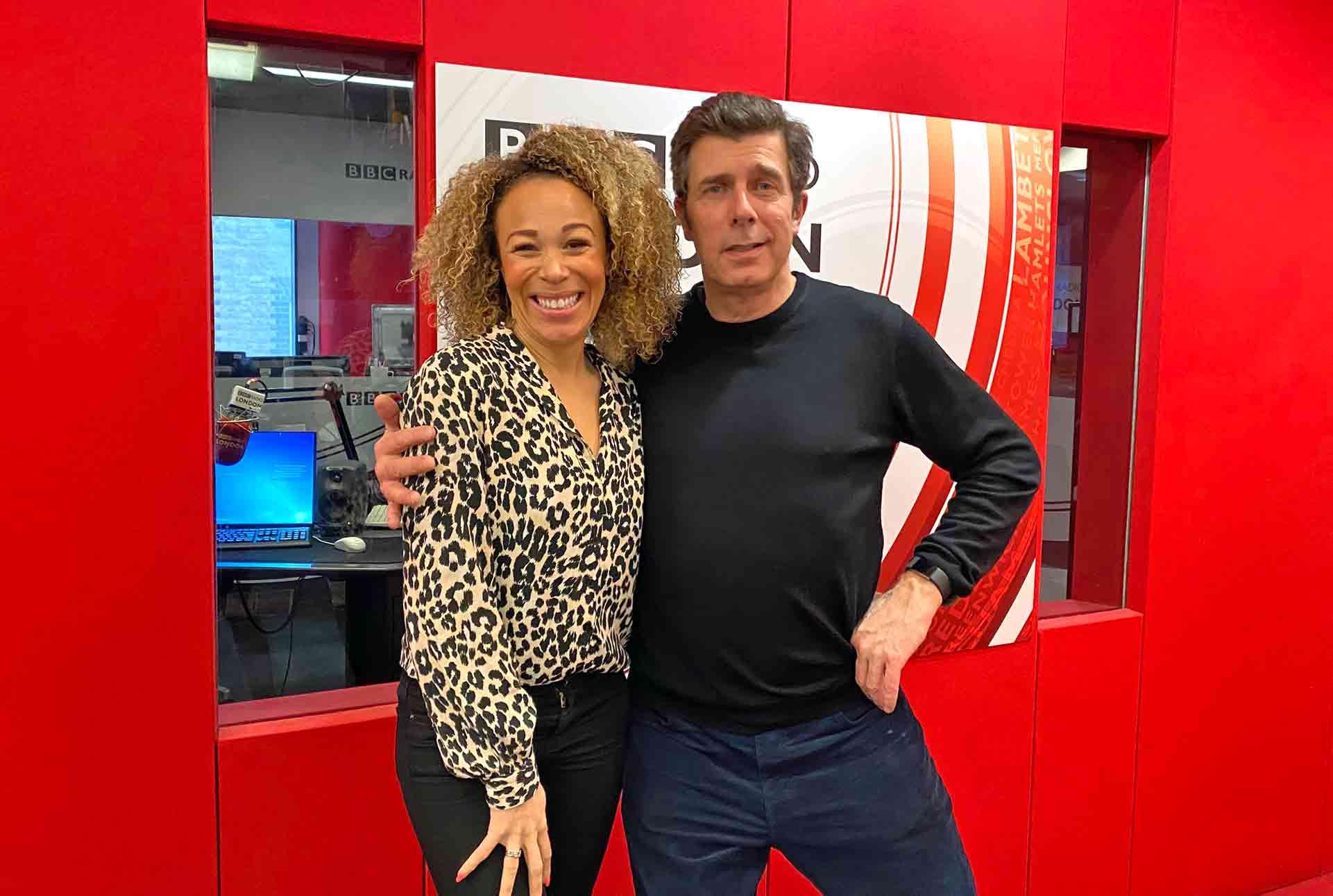 Max Kirsten On BBC Radio London Talking About Sleep - 23rd February 2020