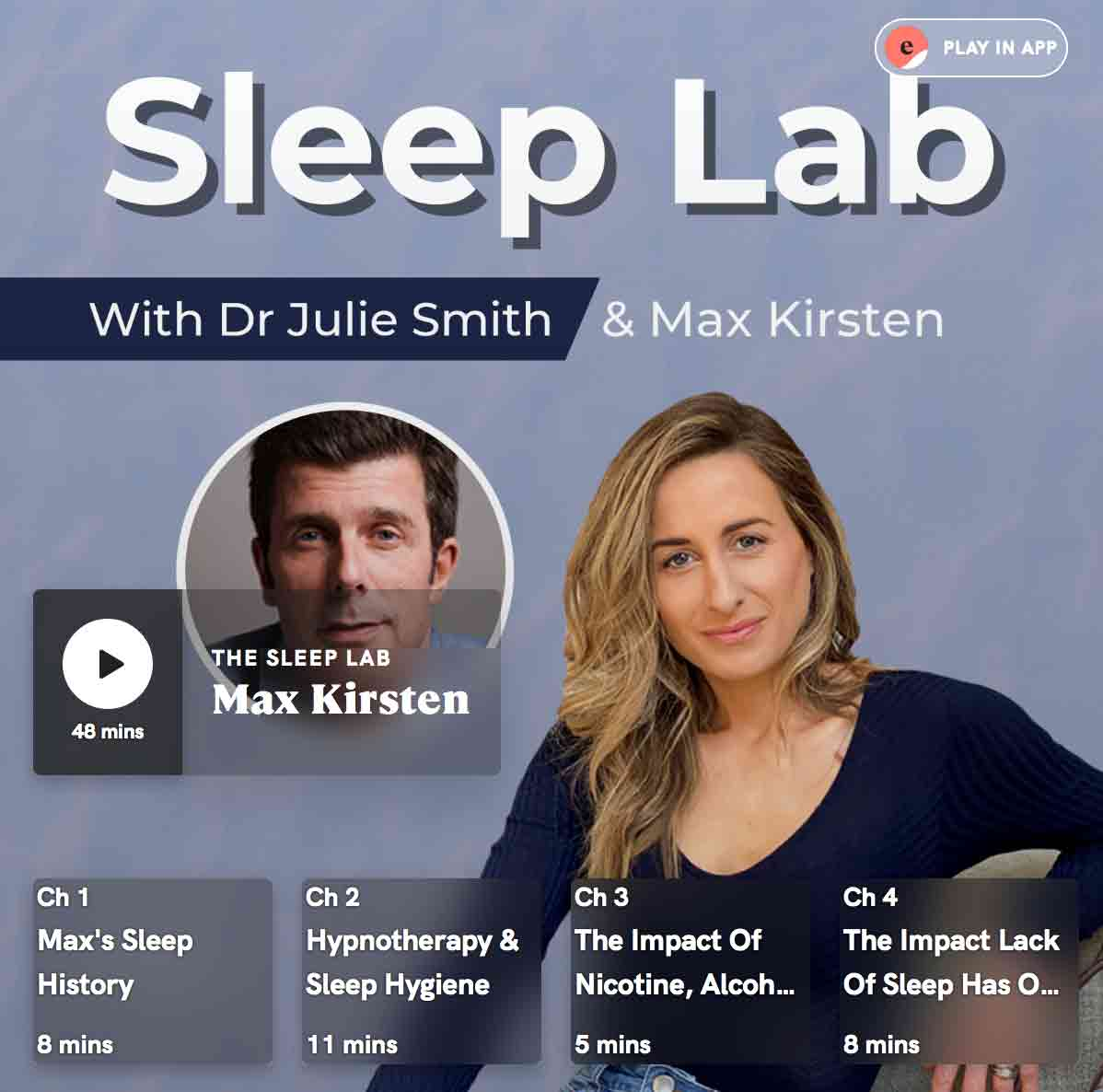 """Featured image for """"Max Kirsten Talks Sleep Coaching With Dr Julie Smith"""""""
