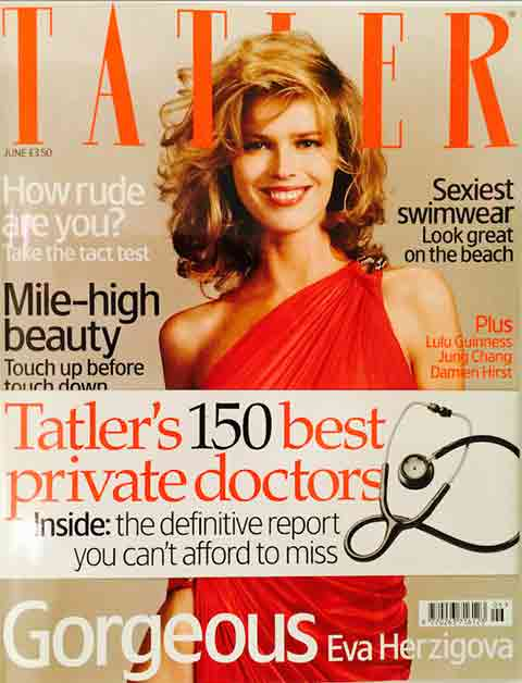 Max Kirsten named on Tatler's 150 best private doctors list