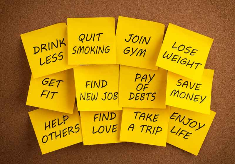 """Featured image for """"How To Stick To Your New Year's Resolutions!"""""""