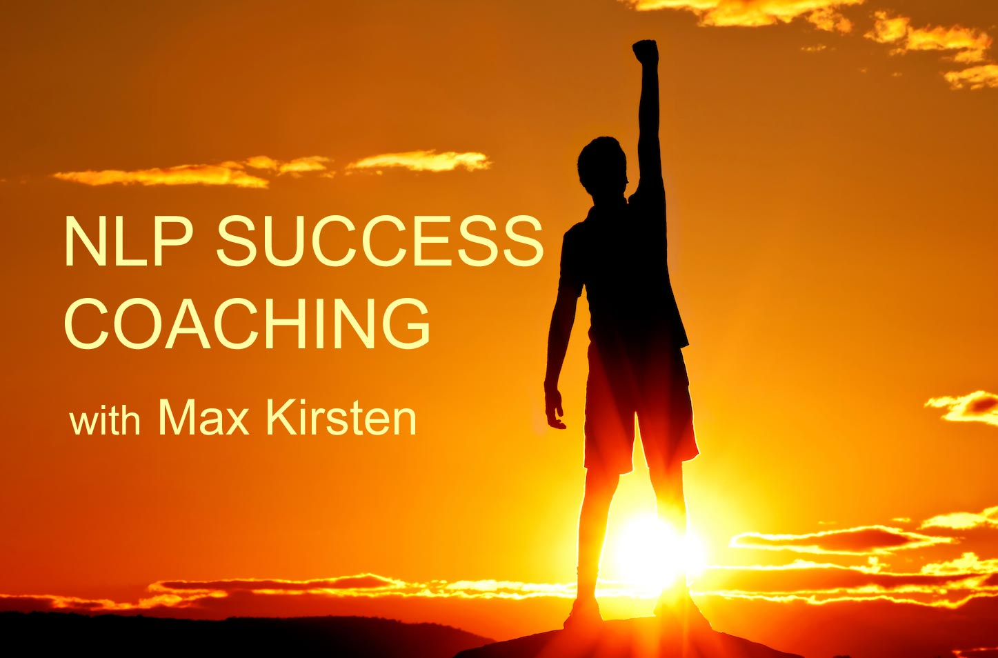 NLP Success Coaching With Max Kirsten