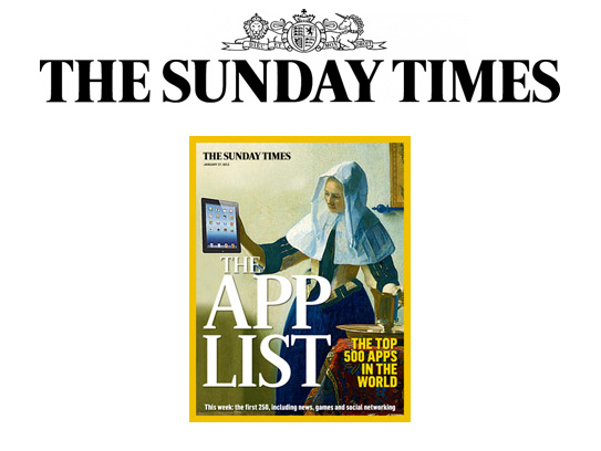 Max Kirsten Quit Smoking Now features in Sunday Times Best Apps 2013