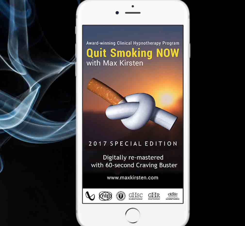 Quit Smoking Now with Max Kirsten - 2017 Special Edition
