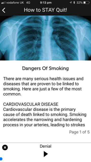 Quit Smoking NOW App How To Stay Quit