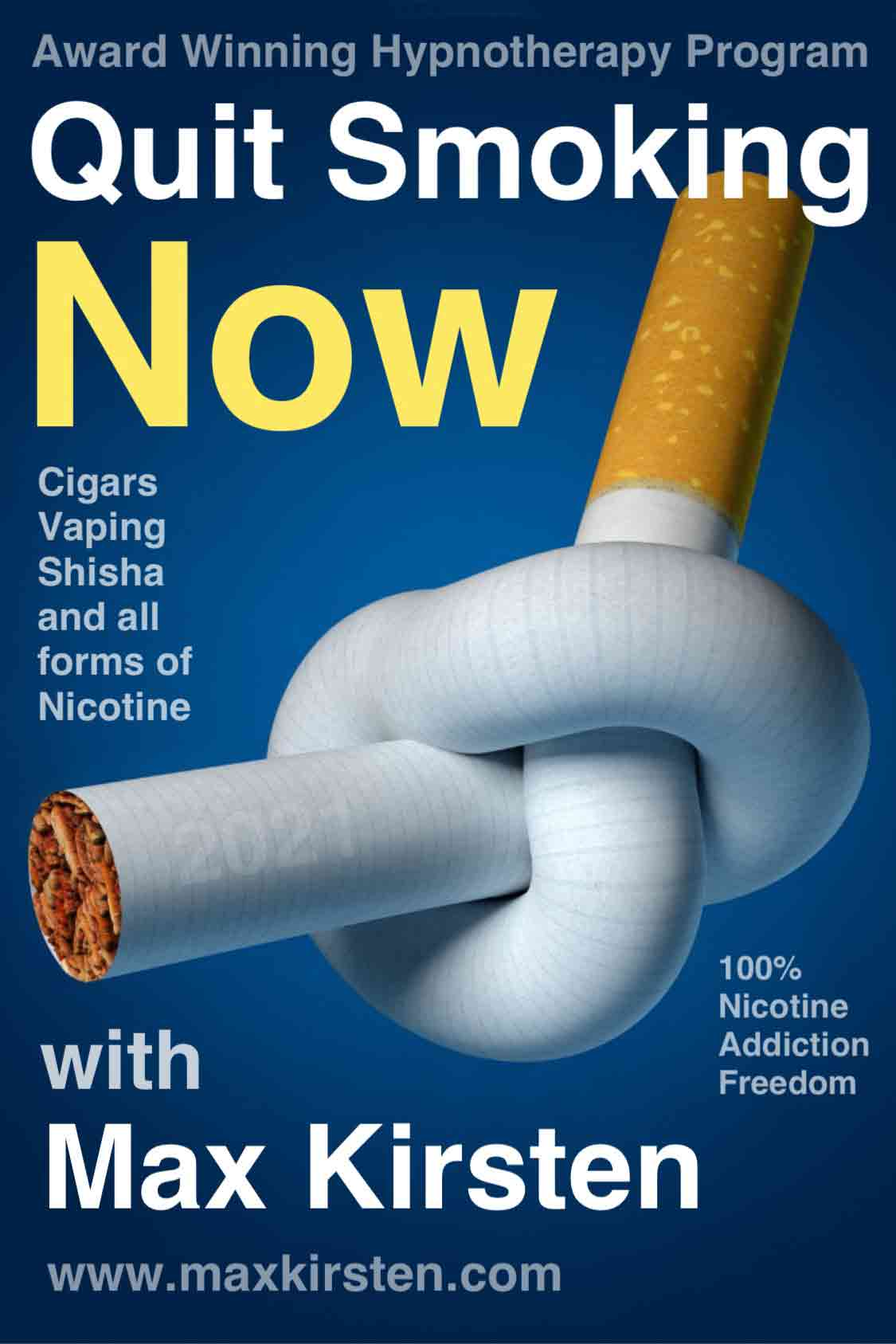 Quit Smoking Now App With Max Kirsten
