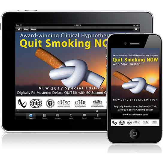 Quit Smoking Now Downloads By Max Kirsten