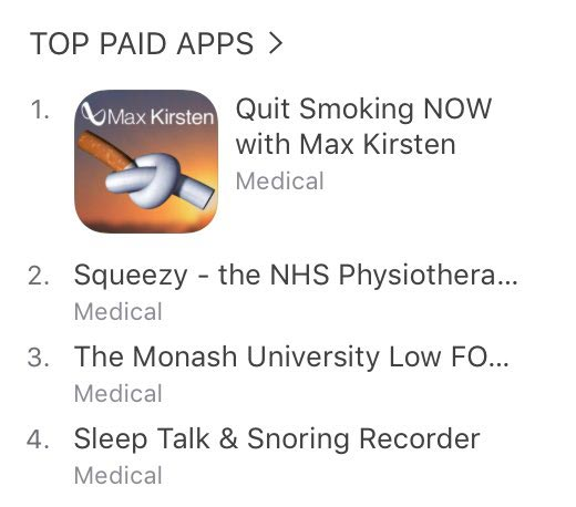 Stop Smoking Top Paid App